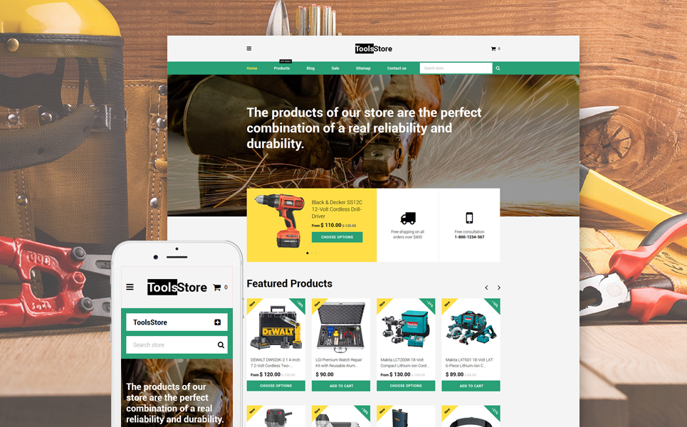 ToolsStore (website theme) Item Picture