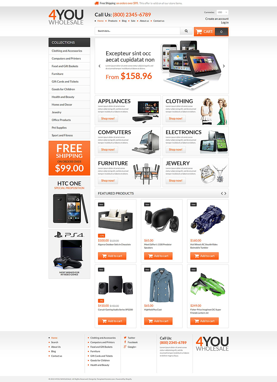 Wholesale Store (theme for Shopify) Item Picture