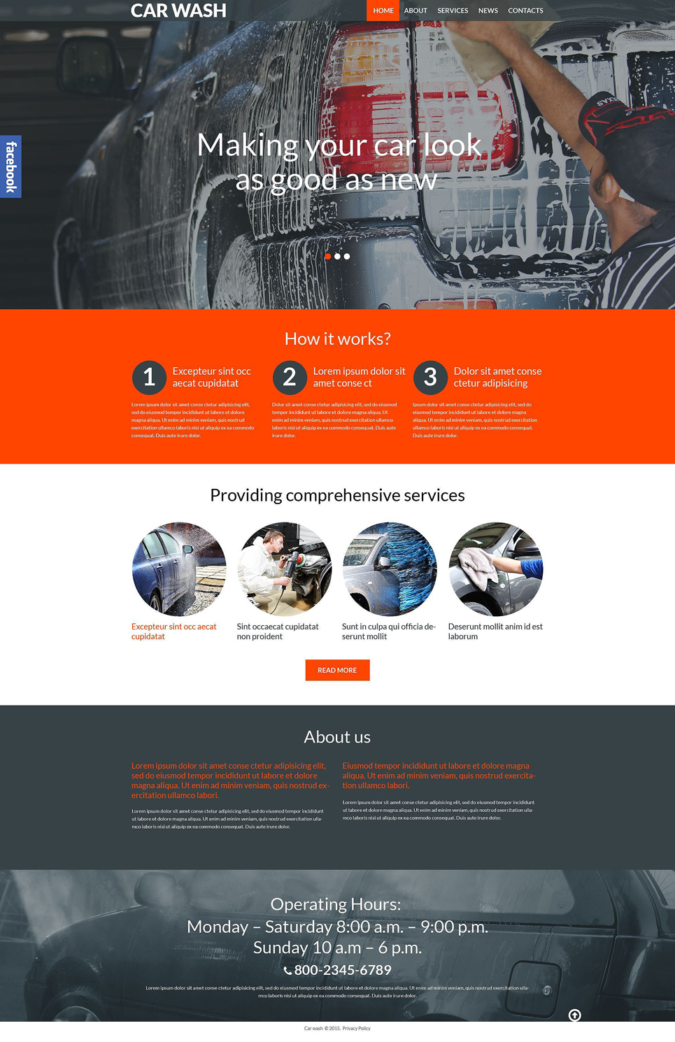 Clean Me (theme for WordPress) Item Picture