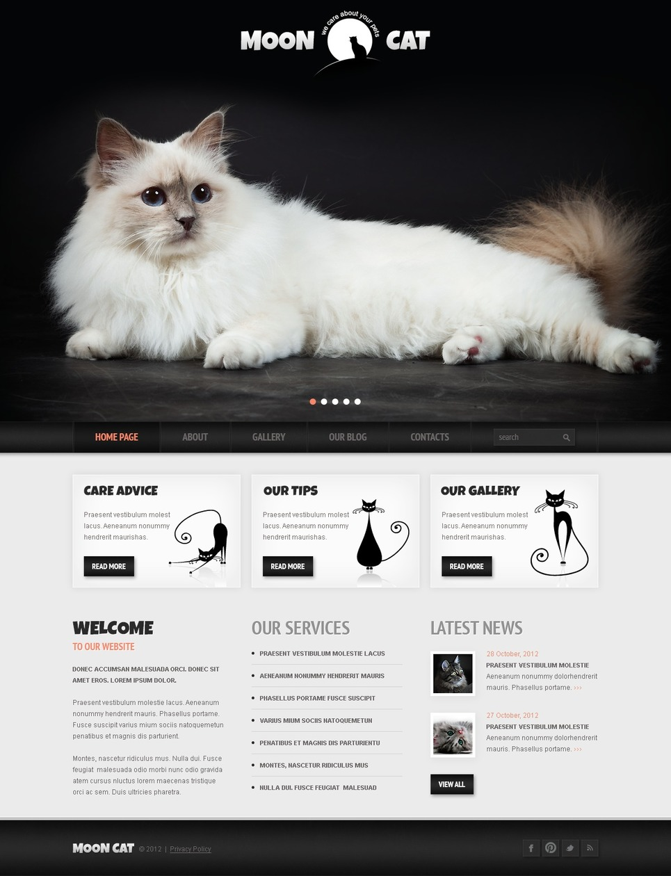 MoonCat (WordPress theme) Item Picture