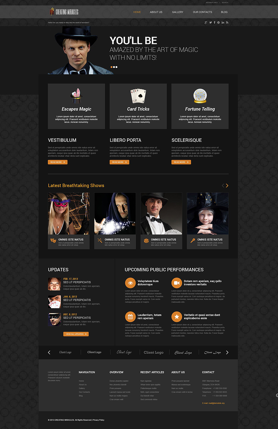 Magician (WordPress theme) Item Picture