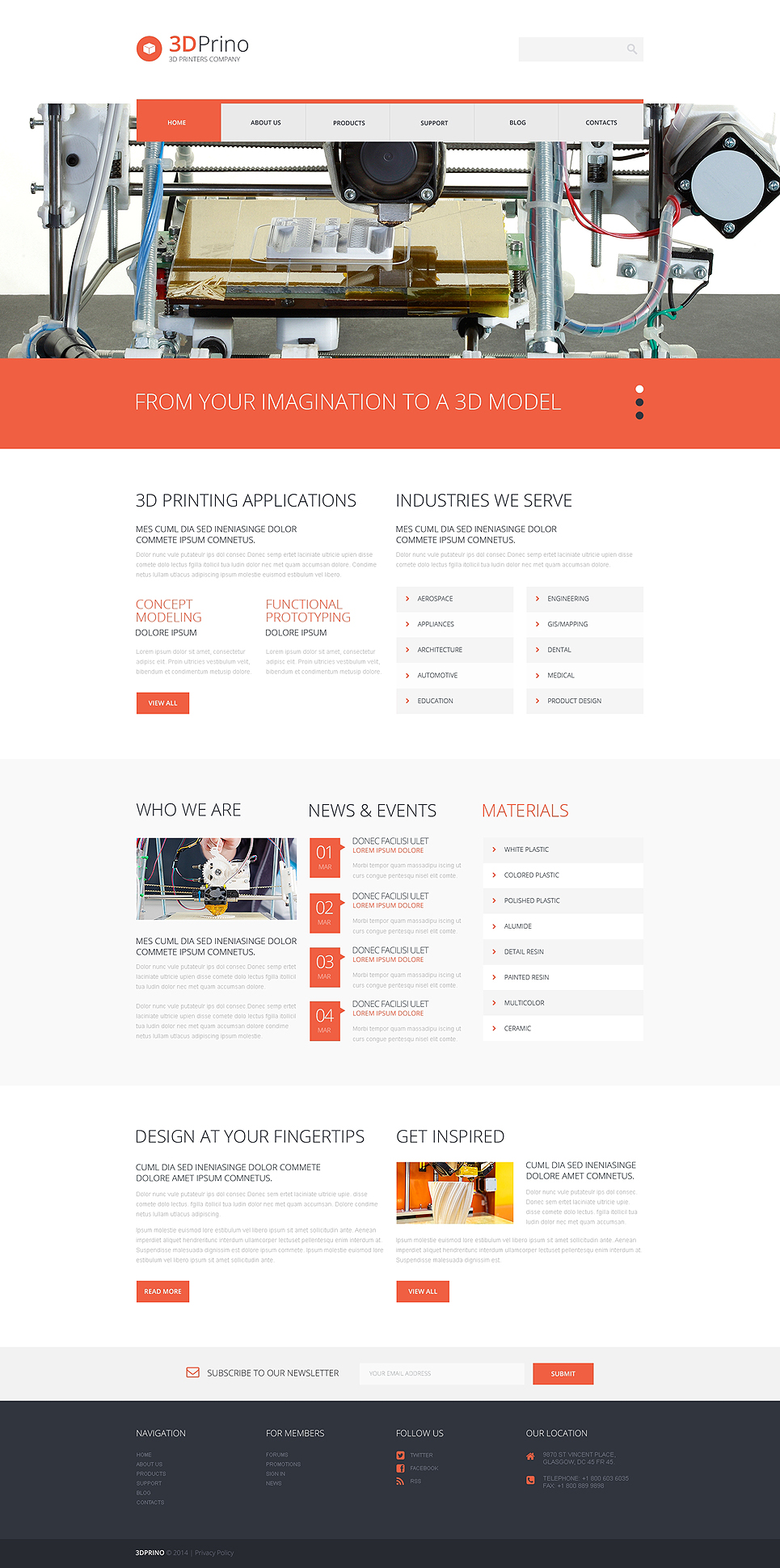 Print Shop (WordPress theme) Item Picture