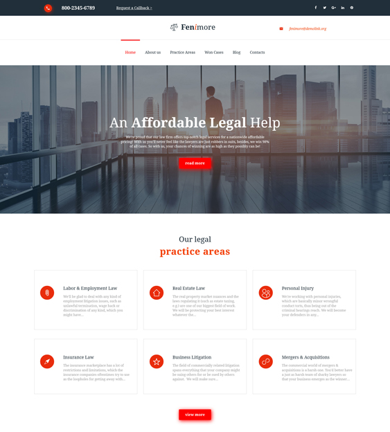 moto cms 3 templates lawyers attorneys law firms