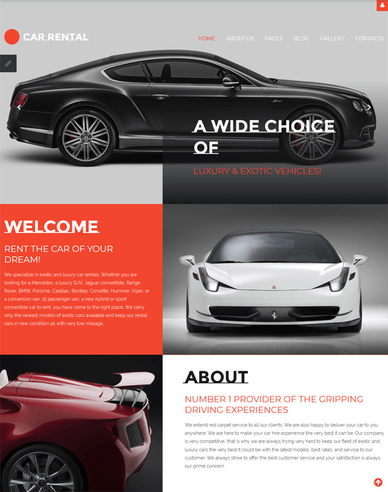 car vehicle automotive joomla templates