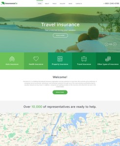 travel insurance template  7 of the Best Joomla Templates for Insurance Companies | Buildify