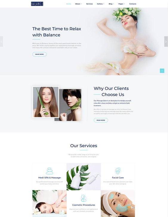 15 of the best bootstrap website templates for salons spas buildify