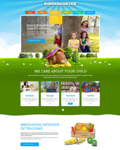 best education bootstrap website templates daycare kindergarten elementary school feature