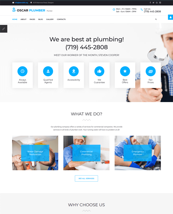 joomla templates building contractors