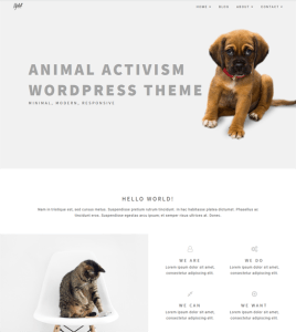 best wordpress themes animal charities nonprofits pet rescues shelters feature
