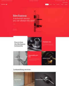 best locksmith wordpress themes