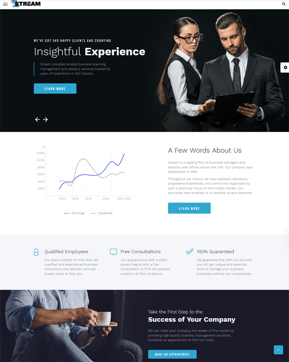 Financial security is one of the most common life goals around the world. 11 Of The Best Bootstrap Website Templates For Financial Advisors Investment Companies Buildify