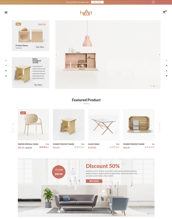 shopify themes furniture stores