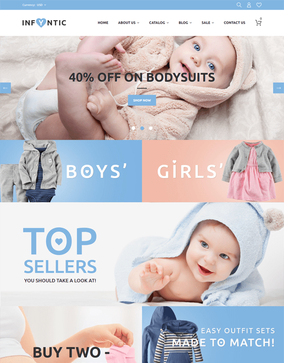 best kids shopify themes feature