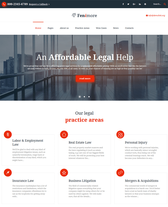 bootstrap website templates lawyers attorneys law firms