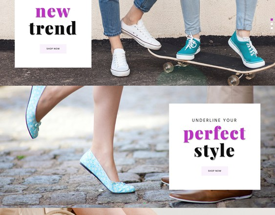 best shopify themes selling shoes footwear feature