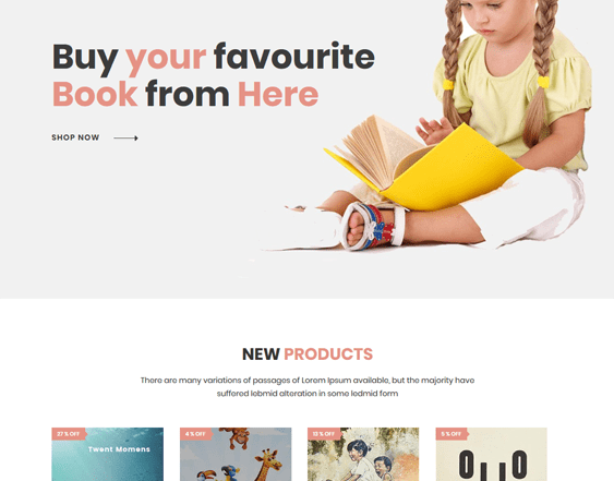 best shopify themes bookstores writers feature