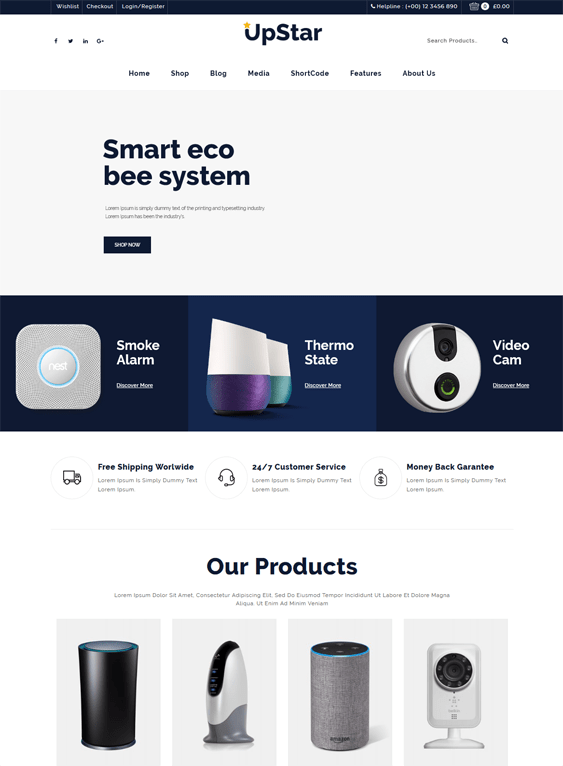 woocommerce themes for selling electronics
