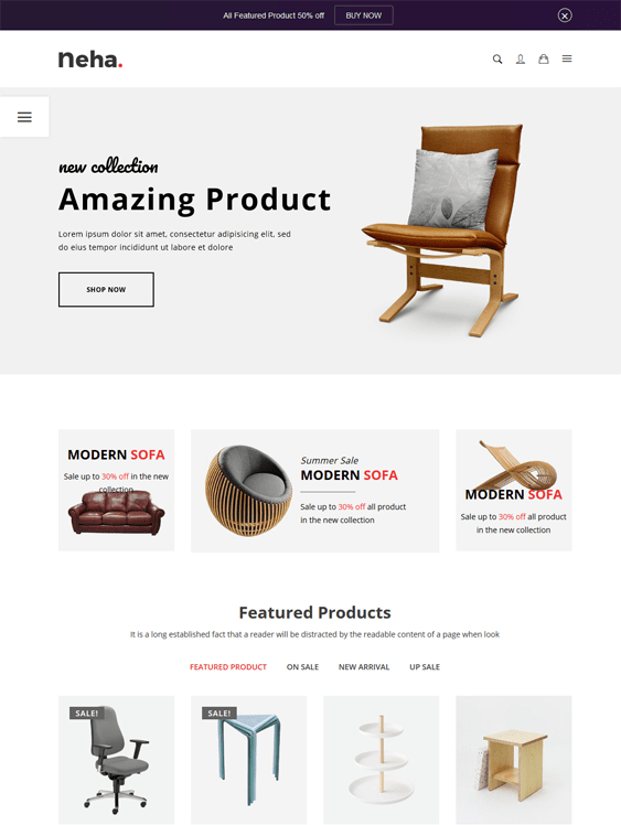 furniture store shopify themes