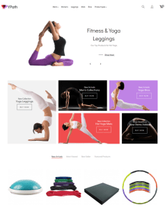 best gym fitness magento themes feature