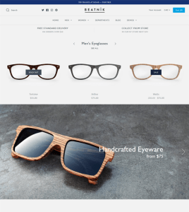 best shopify themes for selling eyewear and sunglasses feature