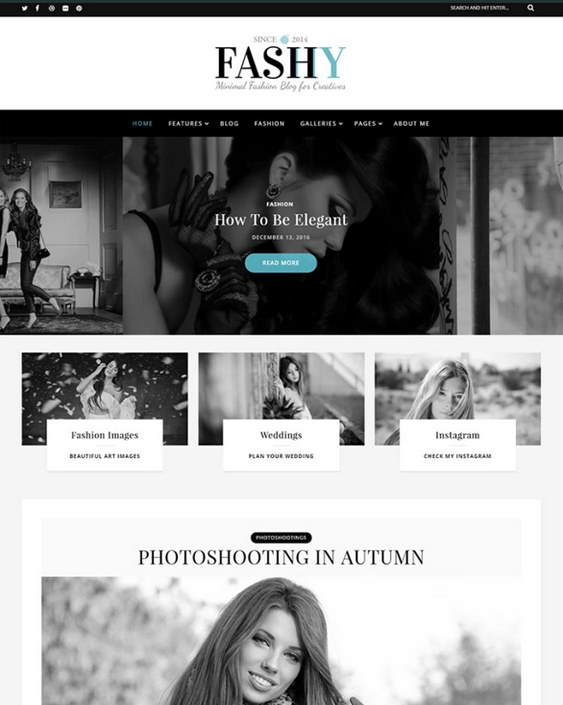 wordpress themes for fashion blogs