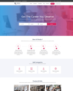 best wordpress themes for online job employment websites feature