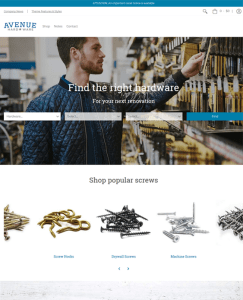 best shopify themes hardware home improvement tool stores feature