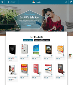 best prestashop themes book stores feature