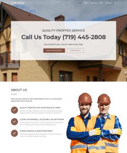 best wordpress themes construction companies building contractors feature