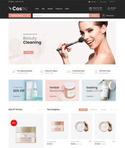 best opencart themes for online beauty stores feature