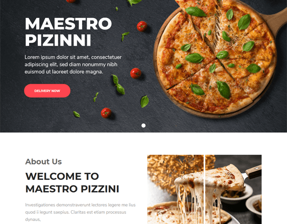 best wordpress themes for restaurants feature