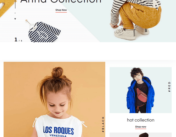 best shopify themes for kids feature