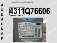 Carrier Furnace Serial Numbers - Bing images