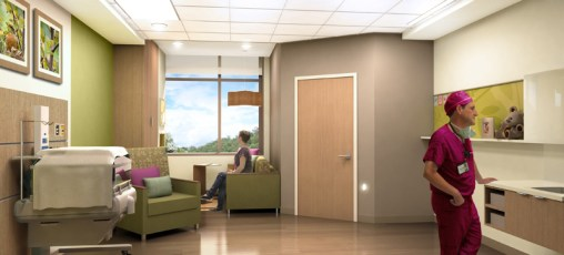 NICU room