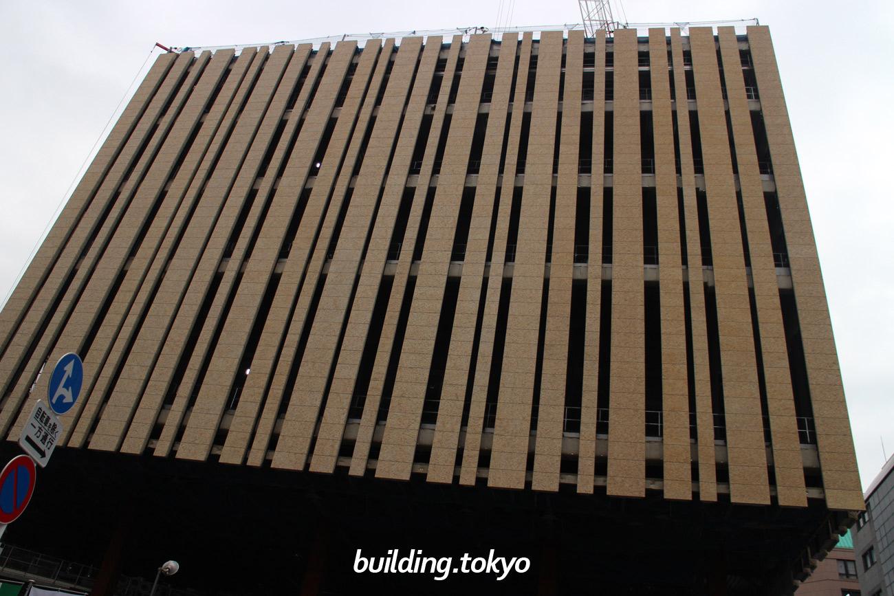東京建物 Brillia HALL、 建設中の様子(2018年4月5日)