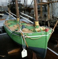 James Shoesmith's model. Courtesy of Mystic Seaport