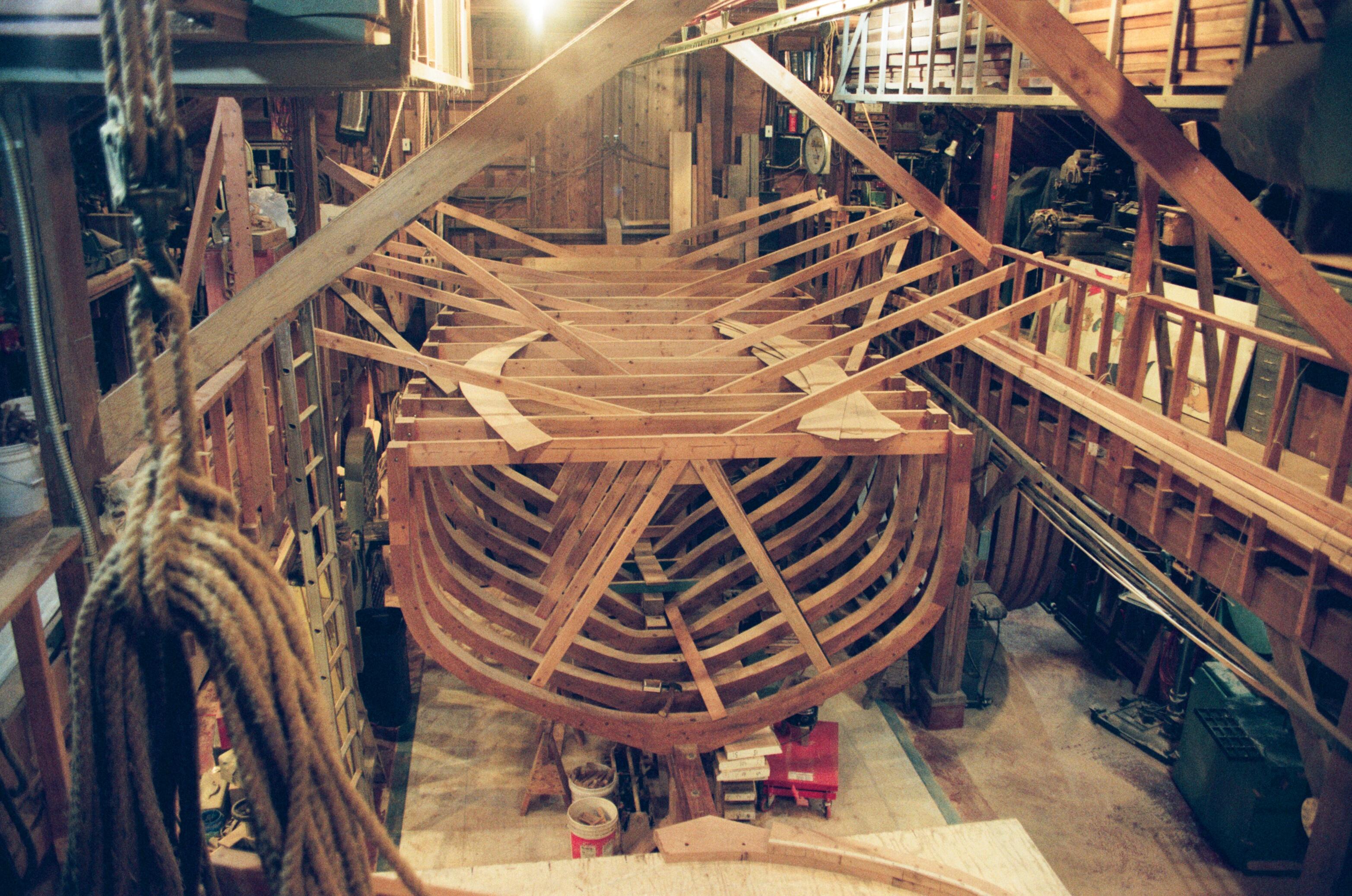Frames – Building A Boat