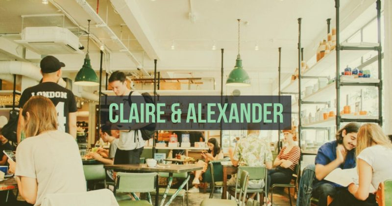 Claire and Alexander