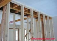 remove load bearing wall flush ceiling   www.energywarden.net