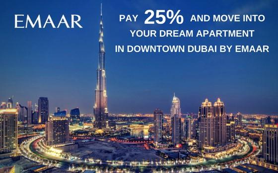 image-Dubai - Emaar Act One Act Two - Downtown Views II