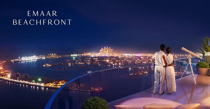 Emaar Beachfront Marina Vista Dubai Apartment