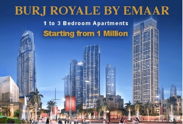 Burj Royale by Emaar - Downtown Dubai