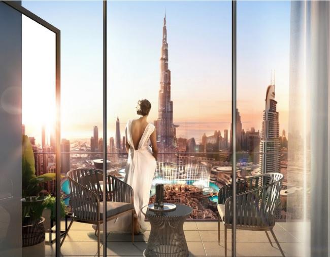 Burj Royale by Emaar view of Burj Khalifa