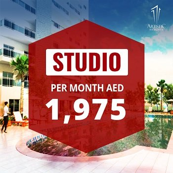 Artistic Heights - Dubai JVC Jumeirah Village Circle - Studio Apartments