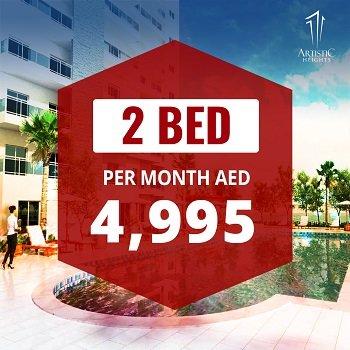 Artistic Heights - Dubai JVC Jumeirah Village Circle - Two Bedroom Apartments