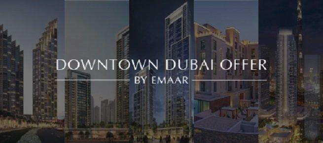 Downtown Dubai Offer by Emaar