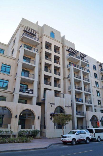 Greens Dubai - Travo Building Arno Turia Apartment