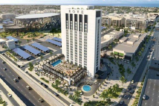 Rove City Walk Hotel Room - Dubai