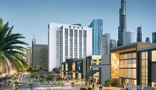 Rove City Walk Hotel by Emaar - Entrance