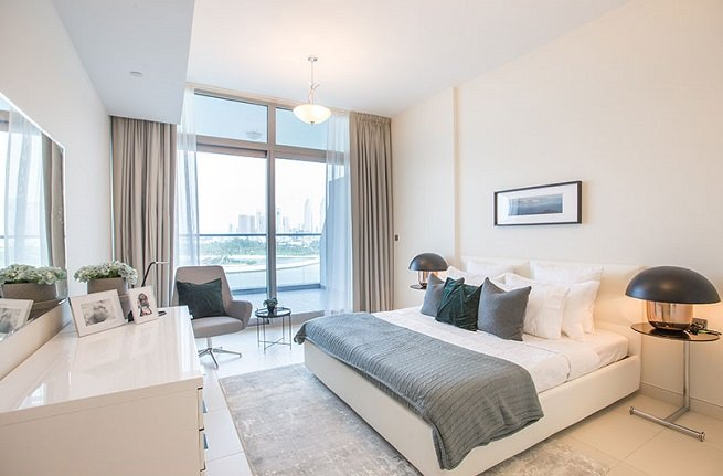 Azure Residences at Palm Jumeirah by Nakheel - Interior - Bedroom